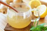 Смесь мёда и лимонного сока