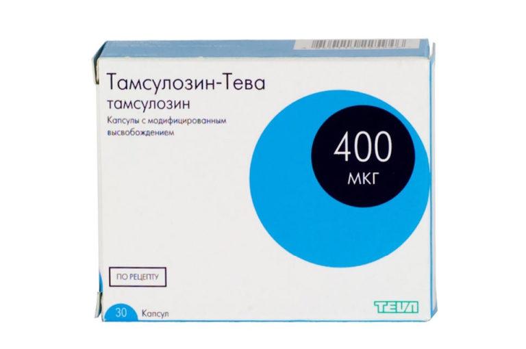 Тамсулозин при лечении хронического простатита