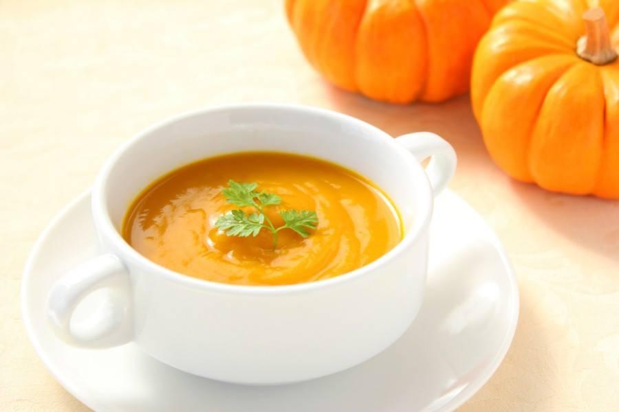 Рецепт супа мудрости из тыквы