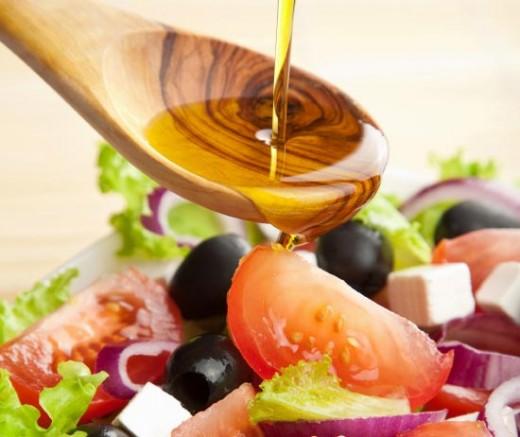 репейное масло в салате
