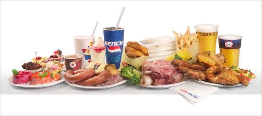 Вредные продукты (мясо, колбаса, пирожные, пиво, газировка)