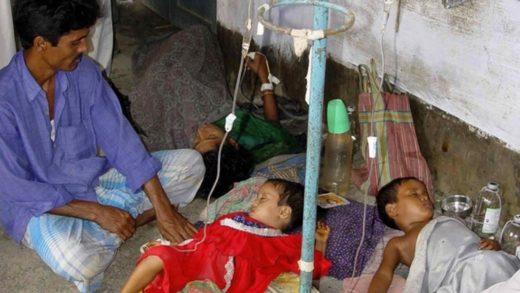 Вспышка ротавирусной инфекции в Индии