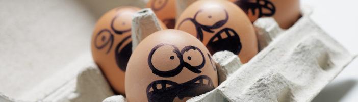 яйца раскрашенные